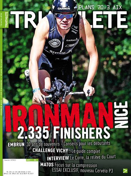ironman nice france jose jeuland couverture triathlete magazine
